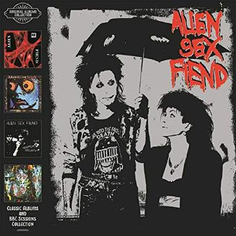 Alien Sex Fiend – Classic Albums and BBC Sessions Collection : 4cd B