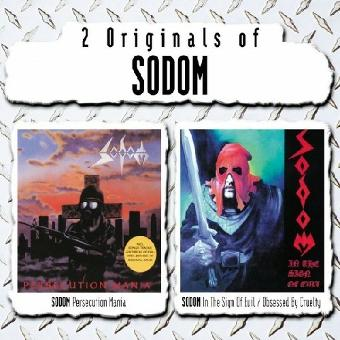 Sodom – Persecution Mania/In The Sign Of Evil - Obsessed By Cruelty [2-CD-Box]