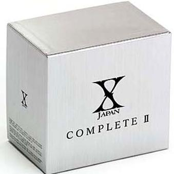 X Japan – X JAPAN COMPLETE II (7CD+5DVD+2bonus DVD)(Japan Version)
