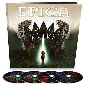 Epica – Omega Alive (Ltd.Earbook/2cd/Blu-Ray/Dvd)