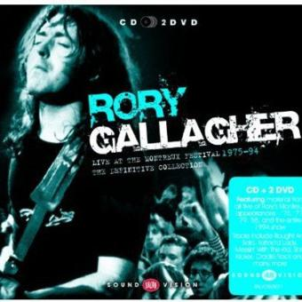 Rory Gallagher – Live at Montreux 1975-94 (CD+2dvd)